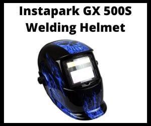 Instapark GX 500S Welding Helmet Review